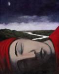 Whisper, Luke Wagner print, 2009