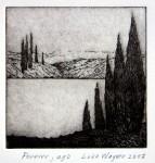 Forever ago, etching, Luke Wagner