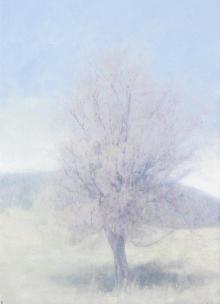 Tree at Wybalena, Flinders Island, 2020, 183x132cm