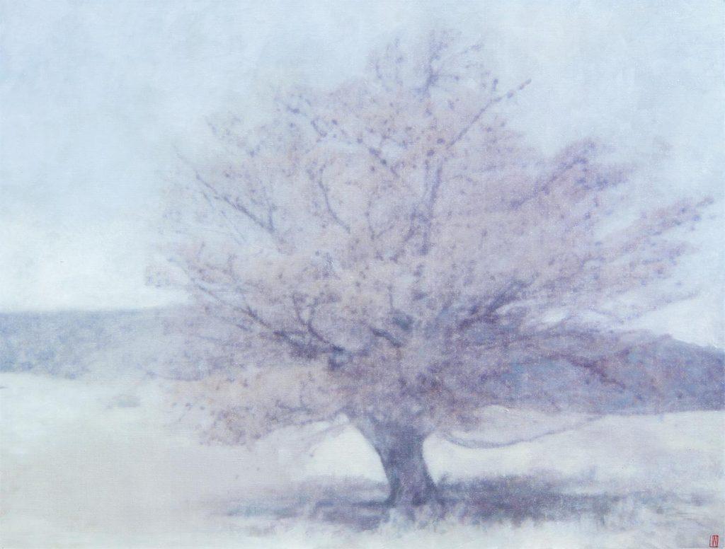 Wybalenna Tree 1, 2020, 92x122cm