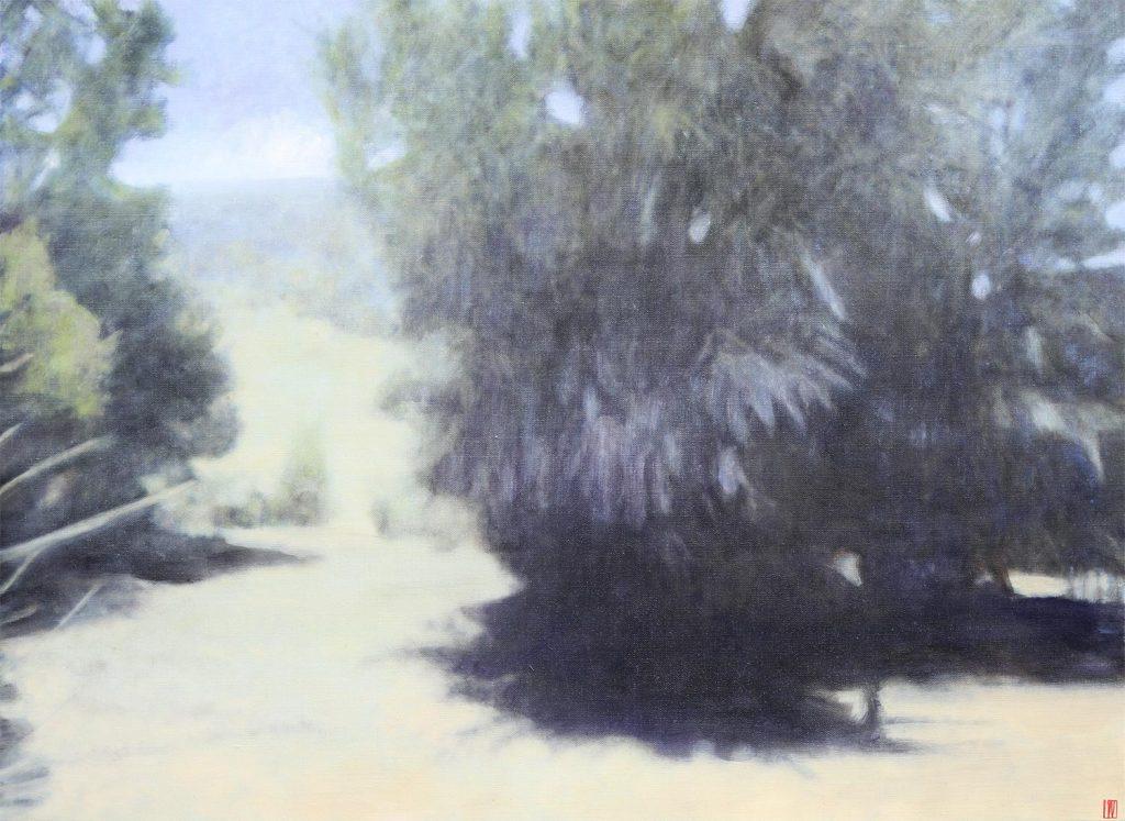 Wireless Hill, Wybalena, 2020, 92x122cm