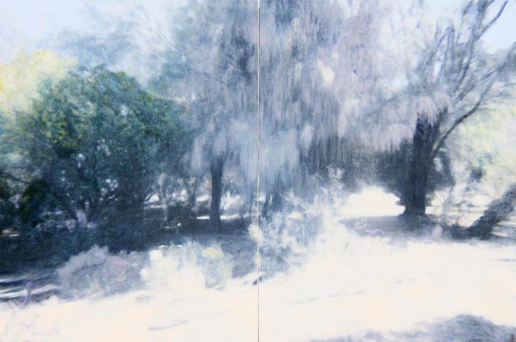 Sheoak Garden, Wybalenna, Flinders Island, 2020, 22x183