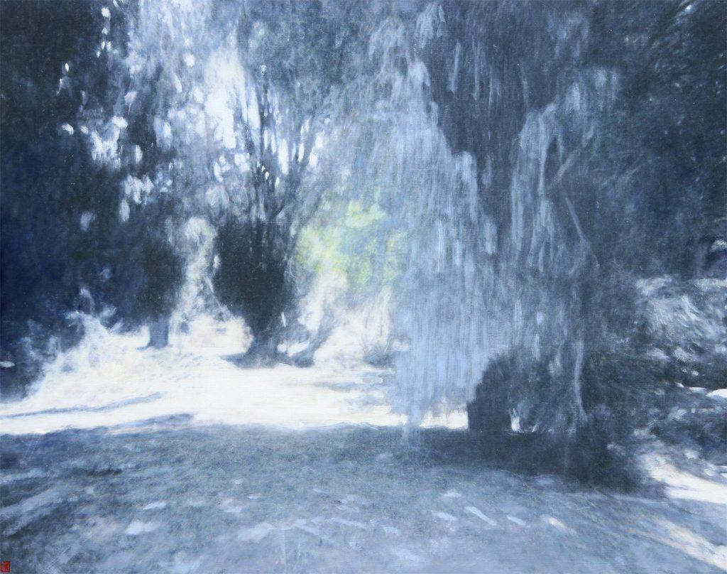 Sheoak Garden, Wybalenna, 102x127cm