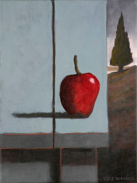 Ripe, oil on linen, 40x30cm, Luke Wagner